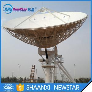 China Hot sale China factory 13.0m big Tx/Rx cassegrain type motorized earth station communication antenna on sale