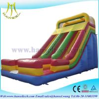Quality Hansel cheap inflatable slides ,boucning castles inflatable slide pool wholesale