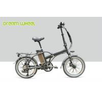 China 14A Aluminum Electric Womens Cruiser Bikes Folding Disc Brake TX55 Derailleur system on sale