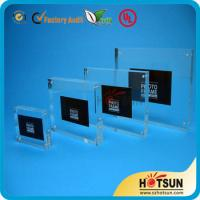 Quality clear acrylic picture photo frame photo frame 4x6,5x7 wholesale custom acrylic photo frame wholesale