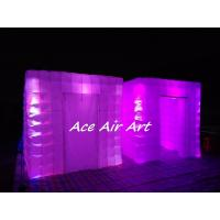 Quality portable wedding party used tent inflatable photo booth enclosure with led for sale wholesale