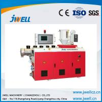 China Jwell water resistance anti-crash PE WPC extrusion line on sale
