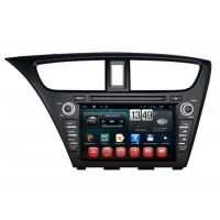 Quality Honda 2014 Civic Hatch Back Navigation System Android DVD 3G Wifi Rearview Camera Input wholesale