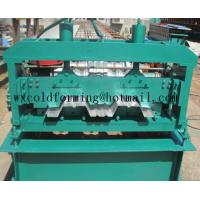 Quality Automated PLC Control  High Precision Steel Structure Floor Deck Roll Forming Machine For Metal Decking Sheet wholesale