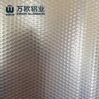 Quality Anti Skidding Aluminium Embossed Sheet With Excellent Corrosion Resistance wholesale