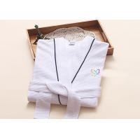 Quality Environment Friendly Dying Luxury Bath Robes , Terry Towelling Dressing Gown wholesale