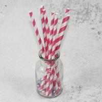 Quality 6mm 8mm 10mm longth red yellow white color bamboo paper drinking straws fancy straws for drinks wholesale