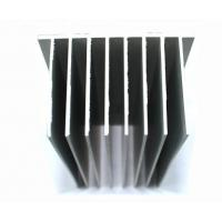 Cheap OEM / ODM Extruded Heat Sink Profiles , Aluminium Profile For Door & Windows for sale
