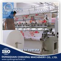 Quality 5200*1100*1600mm Computerized Lock Stitch Quilting Machine With Low Noise wholesale