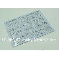 Quality Round LED High Thermal Conductivity PCB Aluminum Based Single Layer wholesale