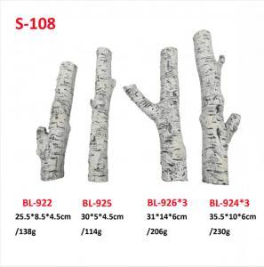 Quality Vent Free Ceramic Logs Professional Ceramic Fiber Gas Logs S-108 wholesale