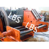 Quality LBS Grooved Sleeve Spooling Device Hydraulic Winch 3 MM - 190 MM Wire Diameter wholesale