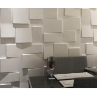 Quality Modern Indoor 3D Wall Clading Block Texture for TV / Sofa Ceramic texture material wholesale