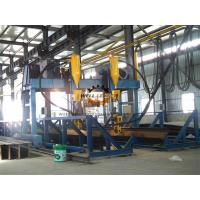 China Gantry Automatically H Beam Welding Line , Shipbuild T Welding Machine on sale