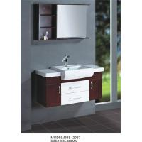 Quality 48 inch solid wood bathroom vanity furniture style Full Extension drawers wholesale