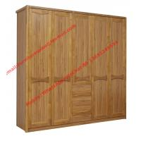 Cheap five DOORS wardrobe chest with open doors in soft stainless hinge and rubber for sale