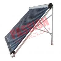 China Heat Pipe Solar Power Collector , Solar Water Collector For Shower 24 Tubes on sale