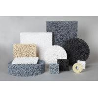 Quality SIC Ceramic Reticulated Foam Filter Dark Grey Colour For Metal Foundry Industry wholesale