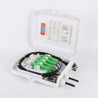 China FTTH Fiber Optic Termination Box Wall Mouted 8 Core 2 In 8 Out IP67 Waterproof on sale