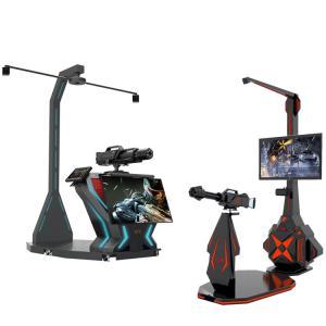 China Theme Park Virtual Reality Shooting Games Machine Easy Installation on sale