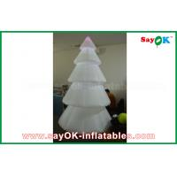 China Color Changing Inflatable Christmas Tree LED Lighting 2.5mm Nylon For Festival on sale