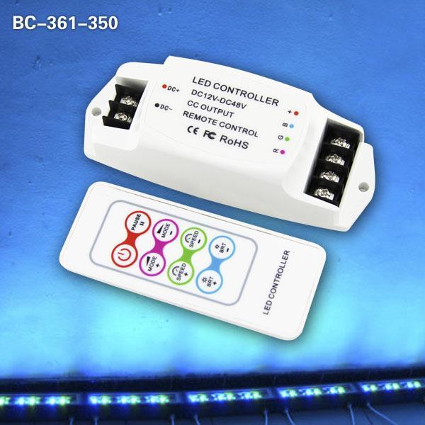 Cheap RF Remote Control 350mA/CH  led rgb Controller for sale