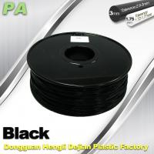 Quality 3D Printer Filament 3mm 1.75mm Black Nylon Filament PA Filament wholesale