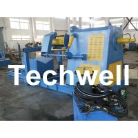 Quality Active Uncoiling / 10 Ton Hydraulic Decoiler Curving Machine With Coil Car TW-DECOILER wholesale