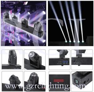 Quality 10W Mini RGBW CREE LED Beam Moving Head DJ Lighting LED Four Heads Moving Head Beam Light wholesale