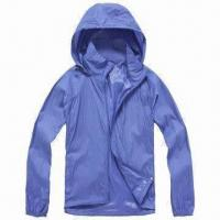 Quality Men's Windbreaker Jacket with Breathable Feature wholesale