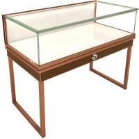 Quality High End Metal / Plexiglass Jewelry Display Cases Shopping Mall Customized Logo wholesale
