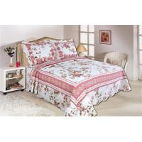 Quality Pink Color Full Size Comforter Sets Home Textile Printed Quits With Frame ISO9001 wholesale