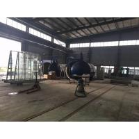 Quality Single Door Glass Laminated Glass Autoclave With U Type Forced Convection Structure And Inconel Tubular Heaters wholesale