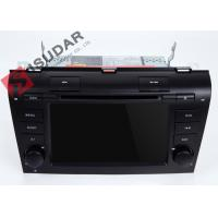 Quality Windows CE Gps Bluetooth  Touch Screen Car Head Unit For Mazda 3 Dvd Navigation System wholesale