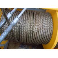 Quality Three Layers Spooling Winch Drums with Lebus Grooving for Lifting Area wholesale