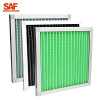 Quality Primary Filtration Mini Pleat  Pre Air Filter For Air Conditioning System wholesale