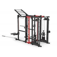 Quality Space Saving Multi Station Cable Machine Combo Rack Combination Incline Adjustments wholesale