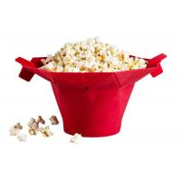 Cheap Movie Theater Silicone Microwave Popcorn Popper With Built In Measurements for sale