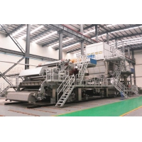 China 2400mm 8T China suppliers automatic toilet paper making machine for paper mill on sale
