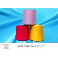 Quality 100% Virgin Spun Dyed Polyester Yarn 40 / 2  AA Grade For Sewing Thread / Embroidery wholesale