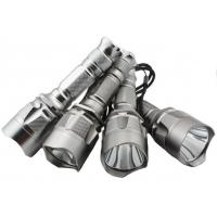 China Rechargeable Cree LED Flashlight , Led Diving Torch with Aluminium Alloy Body on sale