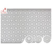 Quality Sri Lanka Guipure Venice Polyester Lace Trims With Embroidered Floral Pattern wholesale