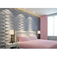 Quality 3D Wood Texture Wall Paper 3D Wall Tile for Kitchen / Living Room / Bedroom Wall Decoration wholesale