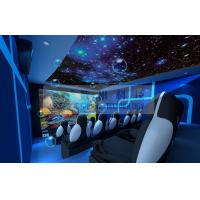 Quality Motion Rides 5D Movie Theater Equipment 1 Seat 2 Seats 3 Seats With Electric System wholesale