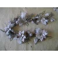 Quality Mistletoe Pip Berry Garland Pine Artificial Decorative Flower Bouquet with Hook wholesale