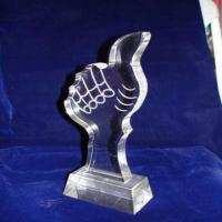 Quality Custom Acrylic Award Trophy , Personalized Award Plaques For Employee wholesale