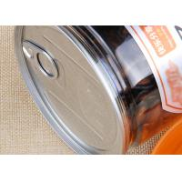 Buy cheap Food Grade Clear Plastic Cylinder Easy Open Cans Transparent Melon Seeds Jar product
