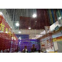 Quality Factory Anodized Fly Door Chain Curtain Screens wholesale