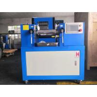 China PLC Controlled Rubber / Plastic Two Roll Mill , Lab Mixing Mill on sale