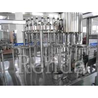 Quality Fully Automatic Juice Filling Machine For 0.25 - 2L Bottle 1 Year Warranty wholesale